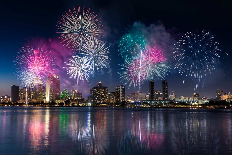 Fireworks in San Diego